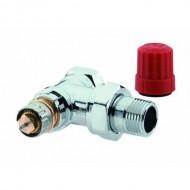 Danfoss chromowany zawór termostatyczny RA-NCX 013G4247