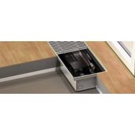 Grzejnik kanałowy Purmo Aquilo F2C 110x240x1400 z funkcją grzania lub chłodzenia F2C241401111
