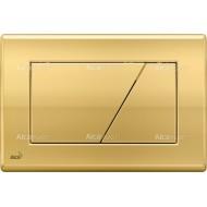 Alcaplast Przycisk sterujący do systemów podtynkowych (Złoty) M175