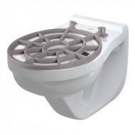 Muszla WC wisząca z kratką WS ALCA