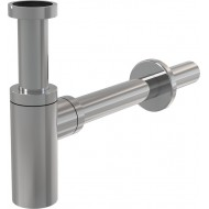 Alcaplast Półsyfon umywalkowy DN32 DESIGN metalowy, okrągły,  A400