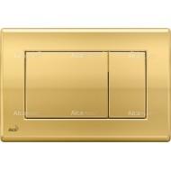 Alcaplast Przycisk sterujący do systemów podtynkowych (złoty-połysk) M275