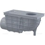 Alcaplast Wpust deszczowy uniwersalny 300×155/110 mm, boczny, szary, AGV3S
