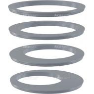 Alcaplast Wkładka rury spustowej, zestaw – szary, AGV900S