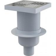 Alcaplast Kratka ściekowa 150x150/50 mm, odpływ pionowy, kratka nierdzewna, syfon mokry, APV6411