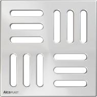 Alcaplast Kratka 102×102 mm, stal nierdzewna, MPV004