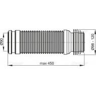 Alcaplast Kolano odpływu 90/110 flexi M9006