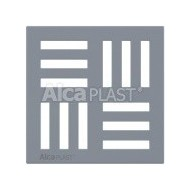 Alcaplast Kratka 143 × 143 szara MPV007