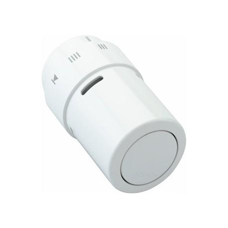 Głowica termostatyczna do grzejników dolnozasilanych dekoracyjna Danfoss RAX-K biała 013G6080