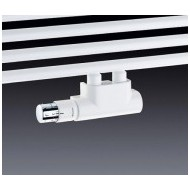 Przyłącze grzejnikowe dekoracyjne białe Multiblock T Oventrop zestaw